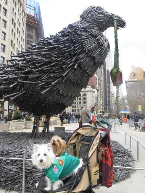 """William Ryman's """"Bird"""" sculpture"""