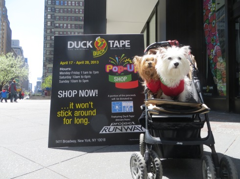 Duck Tape Pop-Up in Midtown