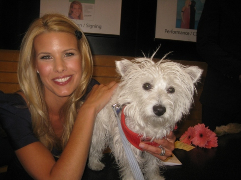 Beth Stern with Cubby