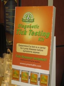 Lyme-Aid tick testing kit