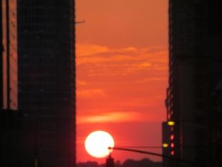 Manhattanhenge 032