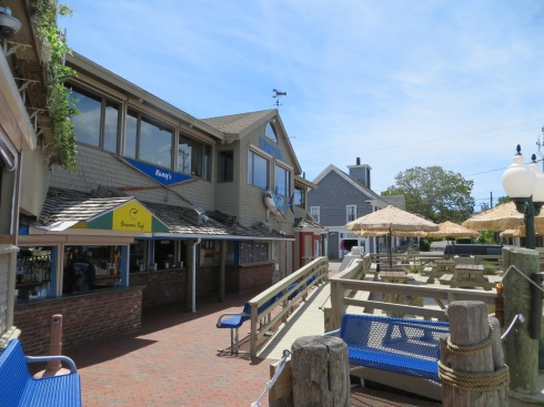 Nancy's walk-up snack stand in Oak Bluffs