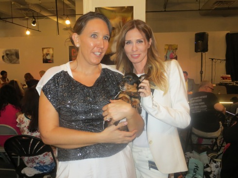 Carole Radziwill supports dog rescue