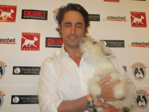 Kissing Prince Lorenzo Borghese