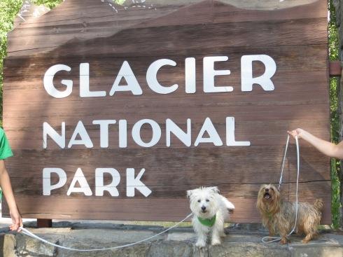 Glacier National Park west entrance