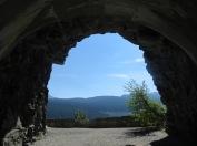 Tunnel and walkway