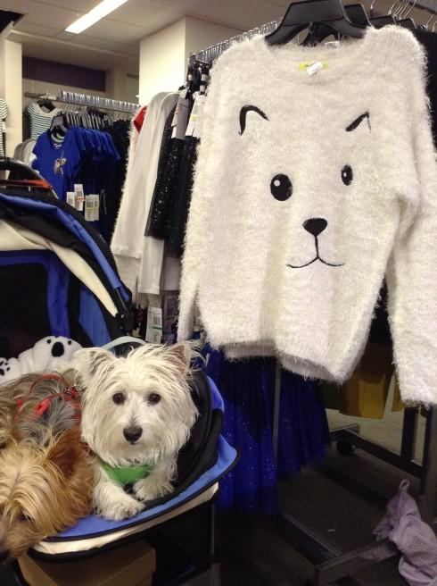 Look-a-like sweater