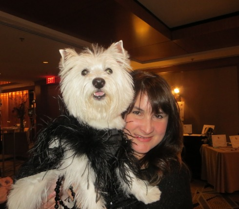 Posing with mom at the SPCA Gala