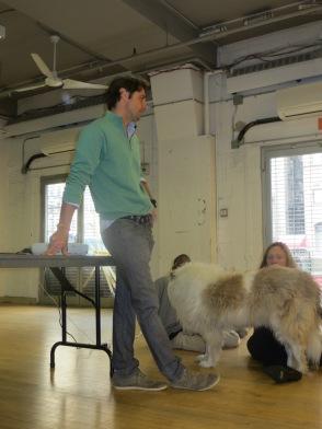 Lorenzo Borghese talks about animal adoption