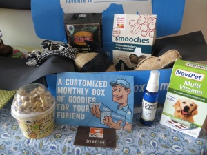 Great premium items in the PetBox