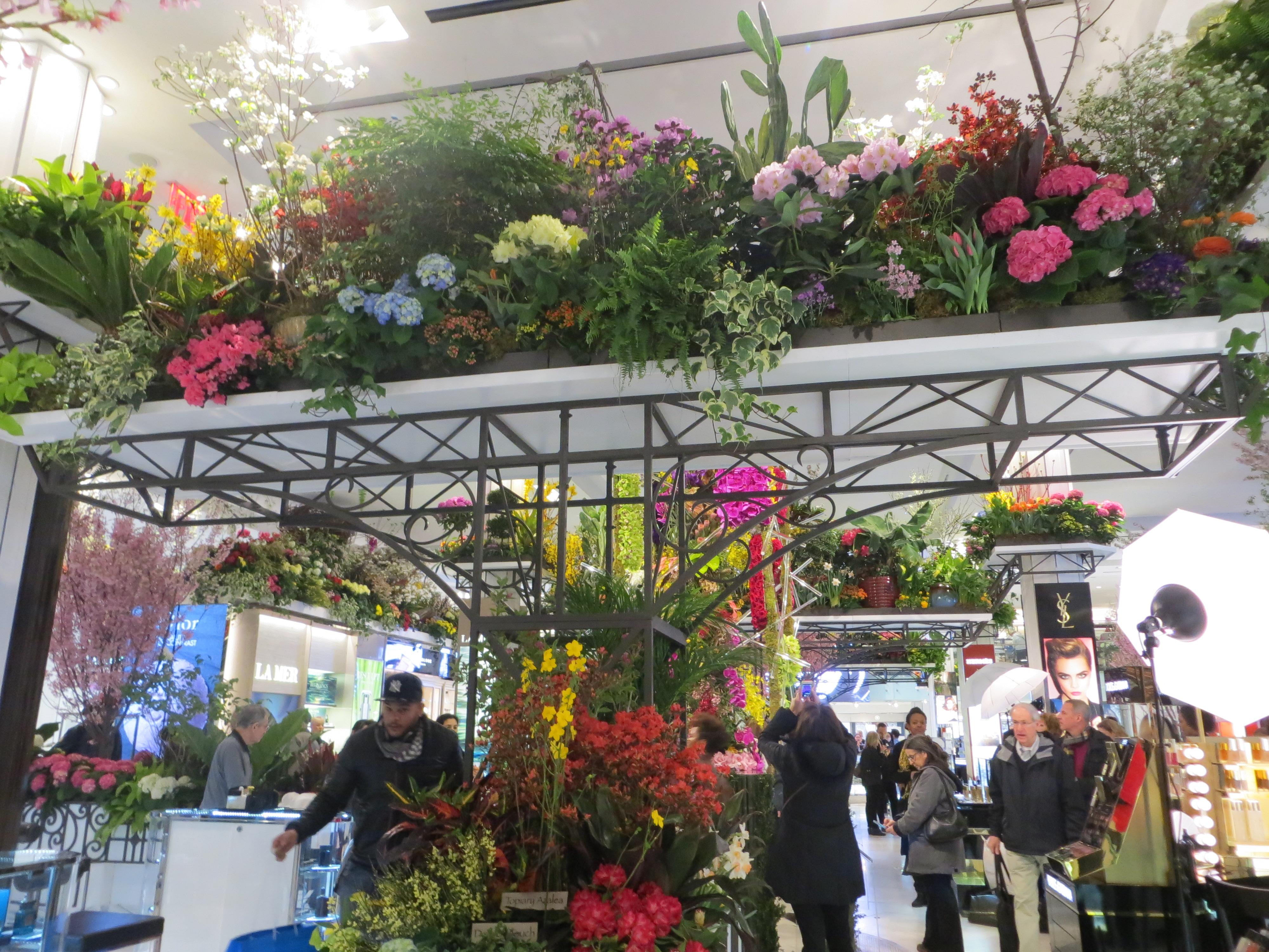 Macy's Flower Show – The Secret Garden thepupdiary